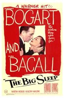 The Big Sleep Red Sketch Wall Poster