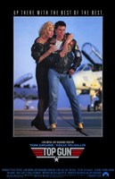 Top Gun Tom Cruise Framed Print