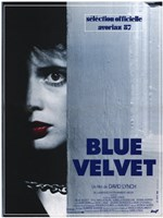 Blue Velvet David Lynch Wall Poster