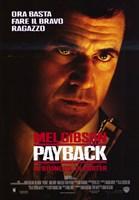 Payback Italian Wall Poster