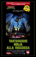 Teenage Mutant Ninja Turtles: the Movie Wall Poster