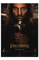 Lord of the Rings: Return of the King - King Aragorn Fine Art Print