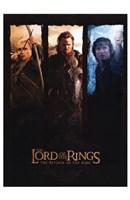 Lord of the Rings: Return of the King Legolas Aragorn Frodo Fine Art Print