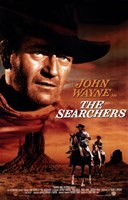 The Searchers John Wayne Wall Poster