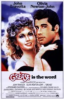 Grease is the word Framed Print