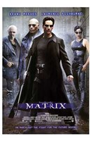 The Matrix - man in all black Framed Print