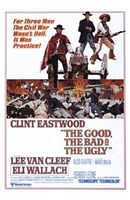 The Good  the Bad and the Ugly Wall Poster