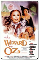 The Wizard of Oz Actors Framed Print