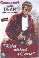 Rebel Without a Cause Smoking Wall Poster
