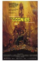 The Goonies - Scared Framed Print
