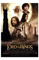 Lord of the Rings: the Two Towers Main Characters Framed Print