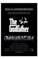 The Godfather B&W Wall Poster