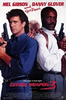 Lethal Weapon 3 Wall Poster