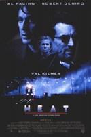 Heat Val Kilmer Framed Print