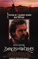 Dances with Wolves 7 Academy Awards Framed Print