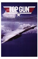 Top Gun Fighter Jet Wall Poster