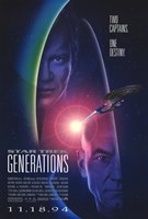 Star Trek: Generations Wall Poster