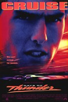 Days of Thunder Wall Poster