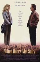 When Harry Met Sally Framed Print