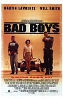 Bad Boys Framed Print