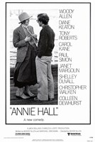 Annie Hall Woody Allen Diane Keaton Framed Print