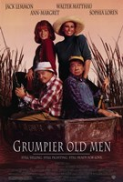 Grumpier Old Men Framed Print