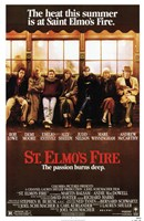 St Elmo's Fire Framed Print