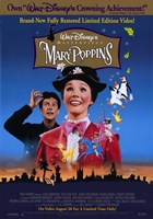 Mary Poppins Disney Wall Poster