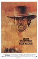 Pale Rider Wall Poster