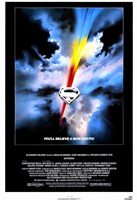 Superman: the Movie Believe a Man Can Fly Wall Poster