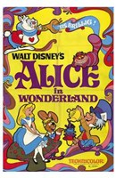 Alice in Wonderland Mad Hatter Wall Poster