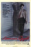 American Gigolo Framed Print
