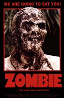 Zombie The Dead are Among Us! Wall Poster