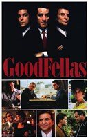 Goodfellas - scenes Framed Print