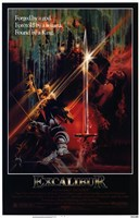 Excalibur Found by a King Wall Poster