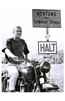 The Great Escape Halt Framed Print