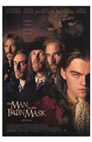 The Man in the Iron Mask Wall Poster