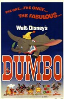 Dumbo The One... The Only.. Wall Poster