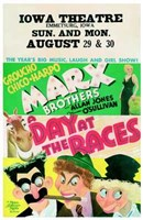 Day At the Races - Movie Poster Wall Poster