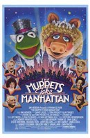 The Muppets Take Manhattan Framed Print