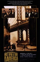 Once Upon a Time in America Bridge Wall Poster