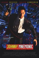 Johnny Mnemonic Framed Print