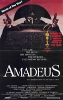 Amadeus Movie of the Year Wall Poster
