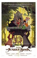 The Jungle Book Mowgli on Aztec Throne Wall Poster