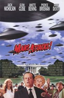 Mars Attacks Jack Nicholson Wall Poster