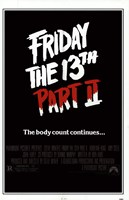 Friday the 13Th Part 2 Wall Poster