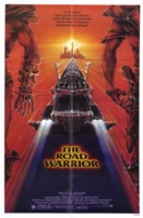 The Road Warrior Sci Fi Wall Poster
