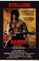 Rambo: First Blood Part 2 Framed Print
