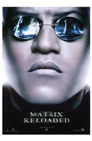 The Matrix Reloaded Morpheus Framed Print