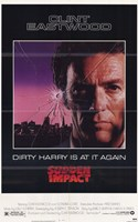 Sudden Impact Wall Poster